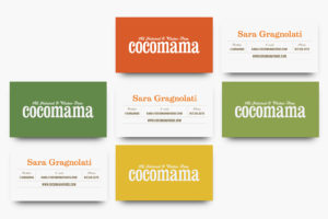 Cocomama Brand Identity Business Cards
