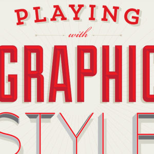 Graphic Style Lab Book Design