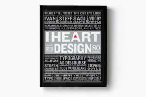 I Heart Design Book Cover Typography