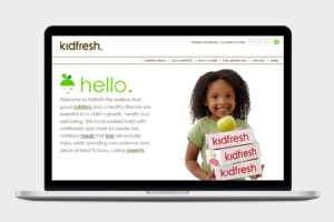 Kidfresh Website