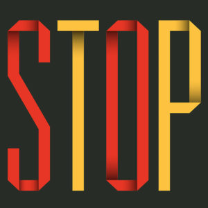 Stop Think Go Do Book Design