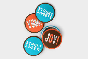 Street Sweets Logo and Typography