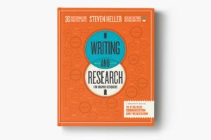 Writing and Research for Graphic Designers Book Cover