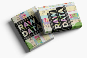 Raw Data Book Cover Design