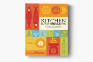 Kitchen indispensable book cover concept