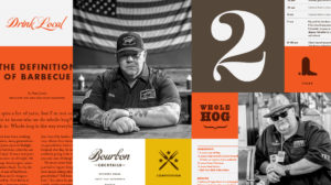 Pitmaster Typography and Graphic Style