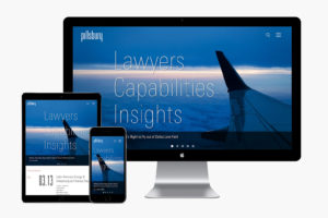 Pillsburylaw.com responsive website design