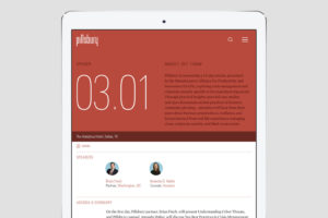 Pillsbury law insights event template design